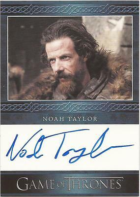 "Game of Thrones Season 3 - Noah Taylor ""Locke"" Auto / Autograph Card"