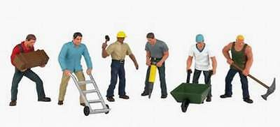 Bachmann Scene Scapes O Scale Figures Construction Workers