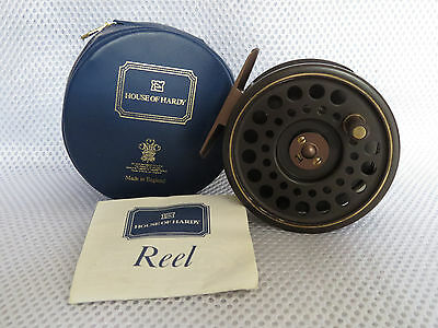 Hardy Golden Prince Reel#7/8 Cased And With Hardy Pamphlet