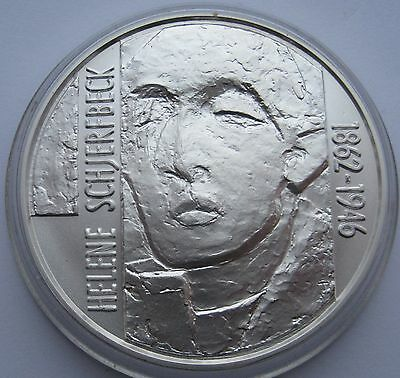 Finland 100 Markkaa 1996 Silver Schjerfbeck UNC Condition !!!