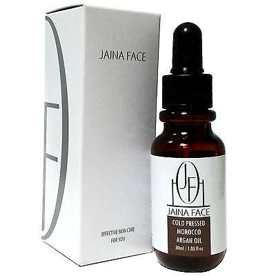 Pure 100% Argan Oil Moroccan Cold Pressed Cosmetic Grade Face Body Hair Nail