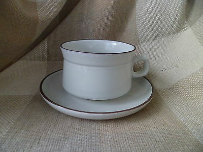 Denby SUMMIT breakfast cup and saucer
