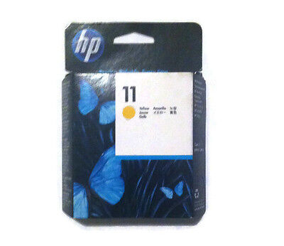 Genuine Original Hp 11 Yellow C4813A Printhead Cartridge Brand New Boxed