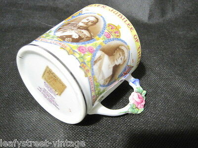 King George And Queen Mary Commemorative Mug Poss Paragon Orinal Label