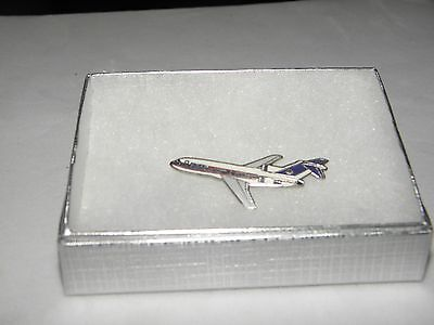 Collectable Pacific Airlines 727 Airplane Lapel Tac Pin Nwa Delta Air West Pilot