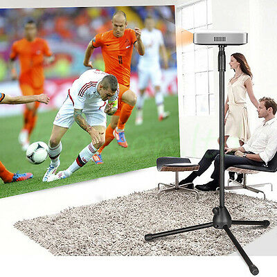 Height Adjustable Laptop Projector Tray Holder Tripod Mounts & Stands 74-151cm
