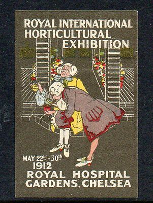 Great Britain 1912 Royal International Horticultural Exhibition  poster stamp