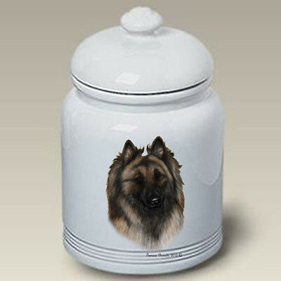 Ceramic Treat Cookie Jar - Belgian Tervuren (TB) 34083