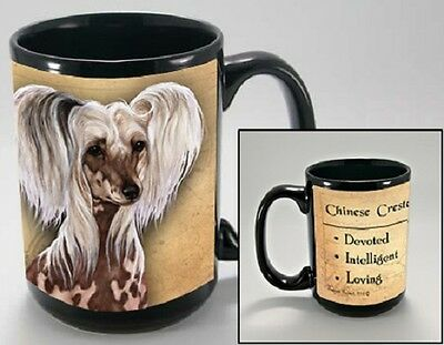 15 oz. Faithful Friends Mug - Chinese Crested MFF058