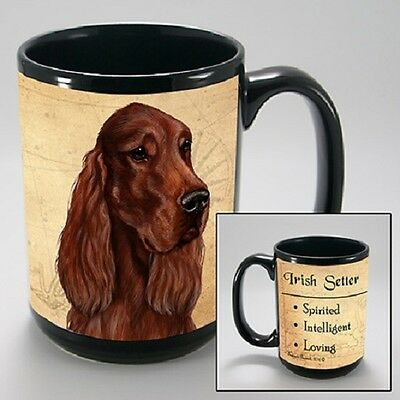 15 oz. Faithful Friends Mug - Irish Setter MFF101