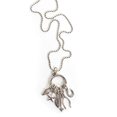 Nunn Design Jewelry Kit, Lucky Charm Necklace, 24 Inches, 1 Kit, Antiqued Silver