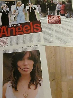 Mandy Moore, Lot of TWO Clippings