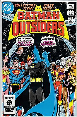 Batman And The Outsiders #1-#3 Nm- 1983 First Appearance Of The Outsiders Team