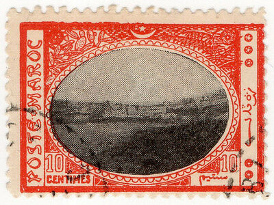 (I.B) French Morocco Local Post : Tangiers 10c