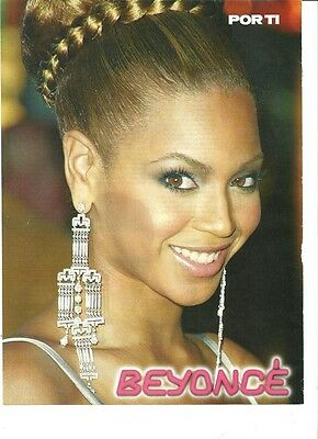 Beyonce, Beautiful Full Page Pinup, Foreign Magazine