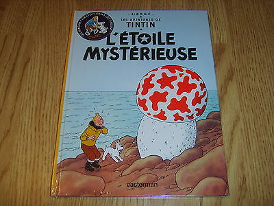TINTIN - L'Etoile Mysterieuse French 2003 Casterman book + magnet NEW/SEALED!