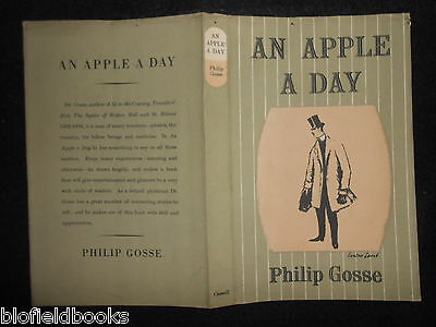 ORIGINAL VINTAGE LYNTON LAMB DUSTJACKET (ONLY) for An Apple a Day - Philip Gosse