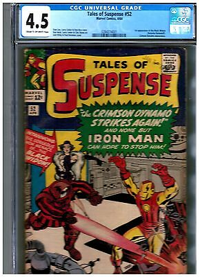 TALES OF SUSPENSE #52 (Apr 1964, Marvel) FIRST APPEARANCE OF THE BLACK WIDOW