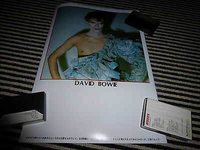 david bowie MEGA RARE A3 reproduction  scary monsters JAPANESE art poster