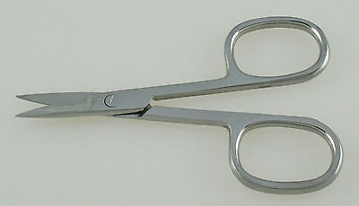 144 Nail Scissors Straight Blades Oval Rings Wholesale manicure pedicure tools