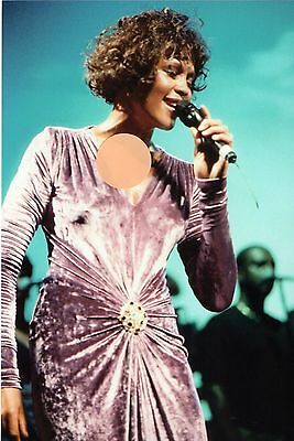 Whitney Houston  - 8X12 Or 8X10 Color Concert Photo  #4Z1