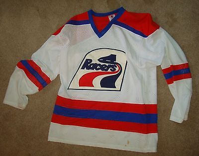 INDIANAPOLIS RACERS~ WHA Replica Hockey Jersey Large