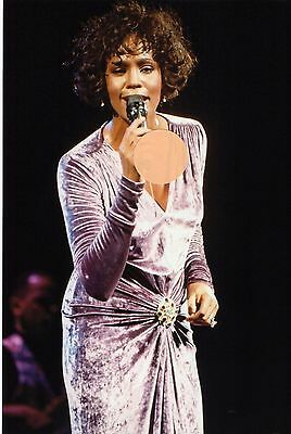 Whitney Houston  - 8X12 Or 8X10 Color Concert Photo  #7Z8