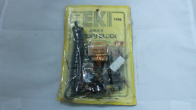 Vintage EKI Electronic Kit Intl Binary Clock #1098  DIY project