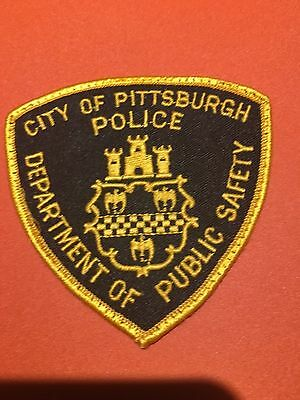 Pittsburgh Pennsylvania  Public Safety  Shoulder Patch  Used