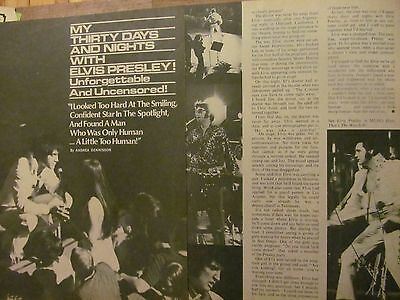 Elvis Presley, Two Page Vintage Clipping