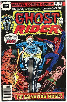 GHOST RIDER #18 G, Rare 30¢ Cover Price Variant, Marvel Comics 1976