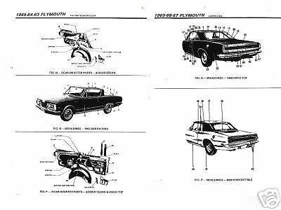 1976 19771978 1979 1980 Oldmobile Starfire Body Parts List Crash Sheets **