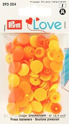 PRYM LOVE Colorsnap bunt / gelb - orange