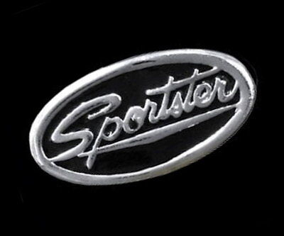 Sportster Vest Pin  * Made In The Usa * Motorcycle Biker Jacket Classic Style