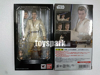 BANDAI S.H.Figuarts Star Wars Episode I OBI-WAN KENOBI action figure japan ver