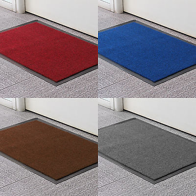 Large Size Rubber Door Entrance Barrier Mat Mats Heavy Duty Hard Wearing Rugs