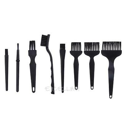 8pcs Universal PCB Anti Static PCB Dust Cleaning Conductive ESD Brush Clean Tool
