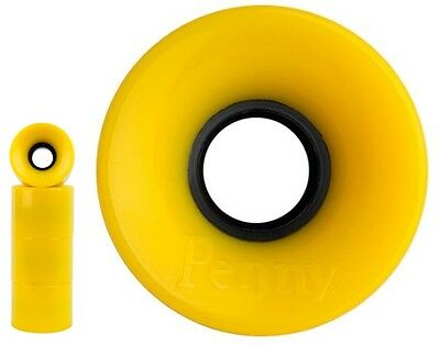 Genuine Penny Cruiser Skateboard Wheels Set of 4 Yellow 59mm 79A