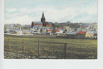 Kirkwall from south west, Orkney