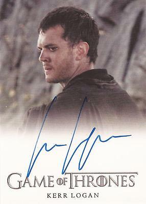 "Game of Thrones Season 4 - Kerr Logan ""Matthos Seaworth"" Autograph Card"