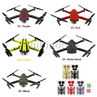 New PVC Waterproof Stickers Decal Skin Protector for RC DJI Mavic Pro Drone Quad