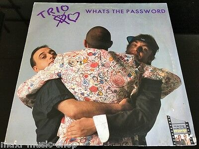 "NDW Trio: Whats The Password (12""LP) 1985"