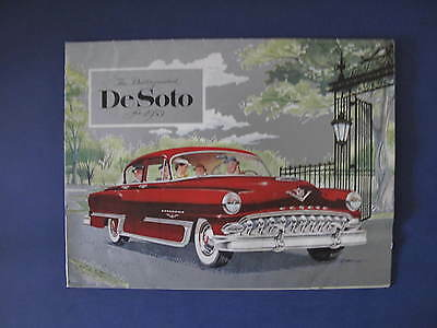 1953 DeSoto Full Line Sales Brochure C5937