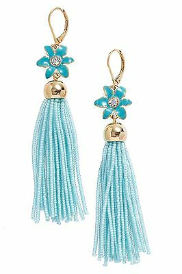72b98ee00bc31 KATE SPADE IN the swing of things tassel earrings fringe White ...