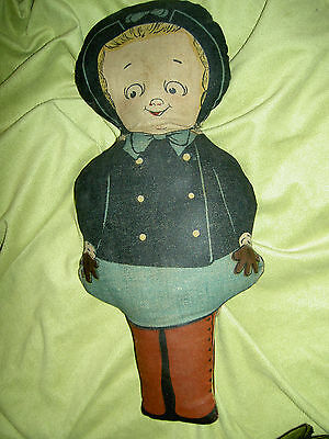 Adorable antique, printed cloth GRACE DRAYTON doll by Georgene Averill Hendren