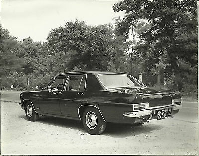 Opel Admiral 2.8 S 1967 Italian Original Large Photograph Excellent Condition A