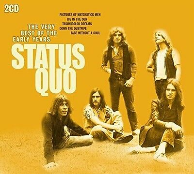 Very Best Of The Early Years - 2 DISC SET - Status Quo (2015, CD New)