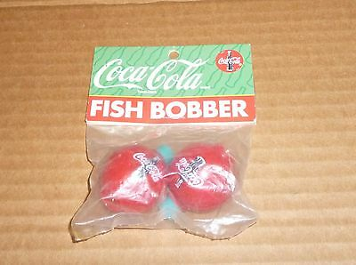 2 COCA COLA FISHING BOBBERS   1996  NEW in package