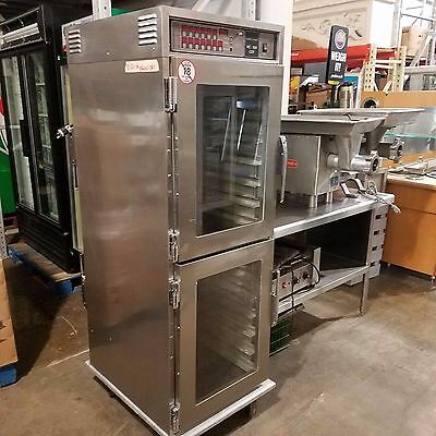 Henny Penny Hc-900 M Heated Holding Cabinet Glass Door Front Pass Thru Digital