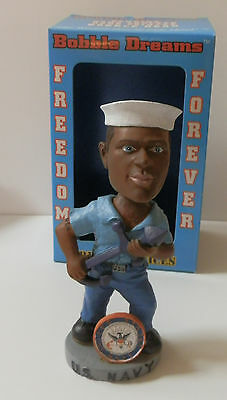 Bobble Dreams Freedom Forever Armed Services Bobble Head  US NAVY NWT